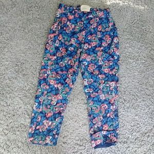 Elevenses floral capri pants sold by Anthropology